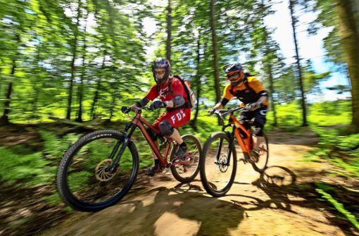 Auf der Suche nach einer legalen Downhill-Strecke