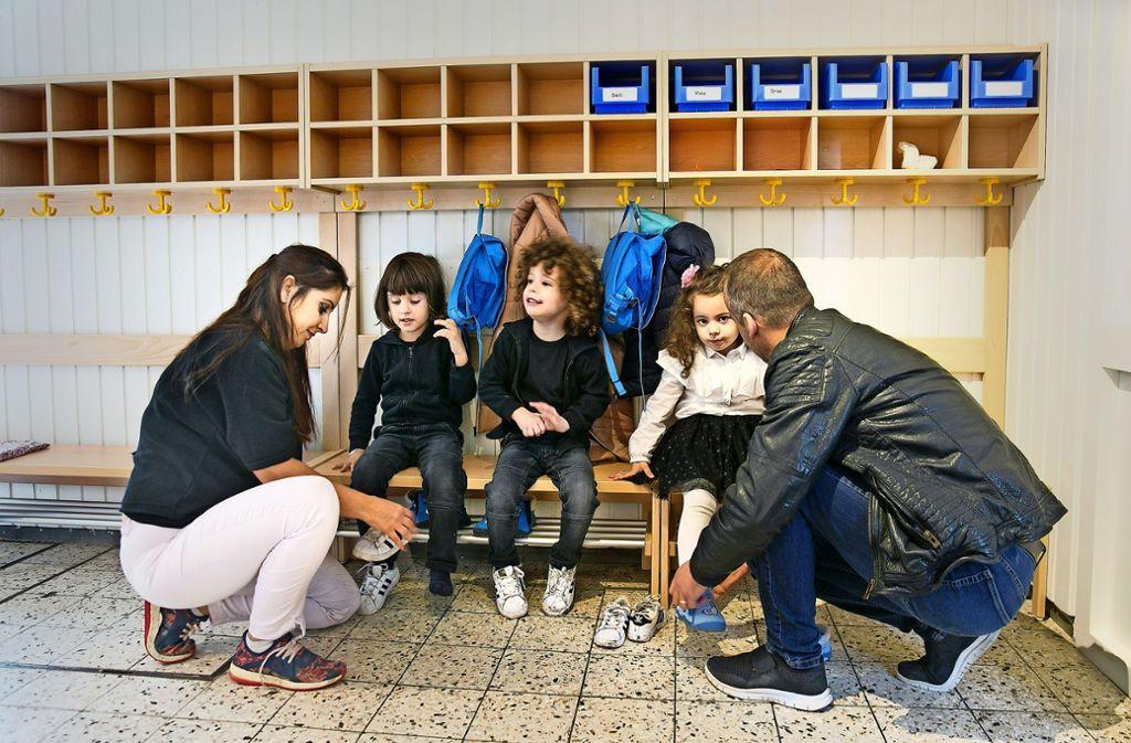 Die ersten Kinder können nun im  Kindergarten Ringweg betreut werden. Foto: Horst Rudel