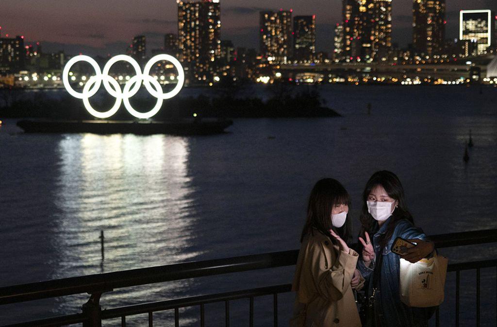 Das Coronavirus gefährdet auch die Olympischen Sommerspiele in Tokio. Foto: dpa/Jae C. Hong