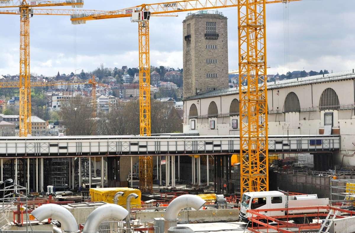 Wie kommt die Gäubahn zum neuen Hauptbahnhof? Im Bahnprojekt Stuttgart 21 gibt es dazu klare Vorstellungen. Doch nun ist eine neue Lösung im Gespräch. Foto: Lichtgut/Max Kovalenko