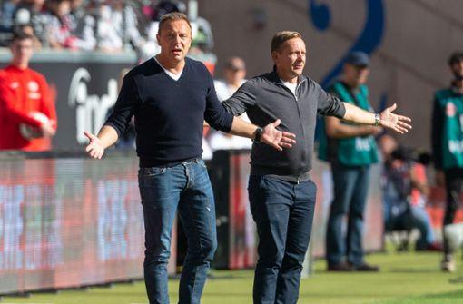 Hannover-96-Manager Horst Heldt mahnt zur Ruhe