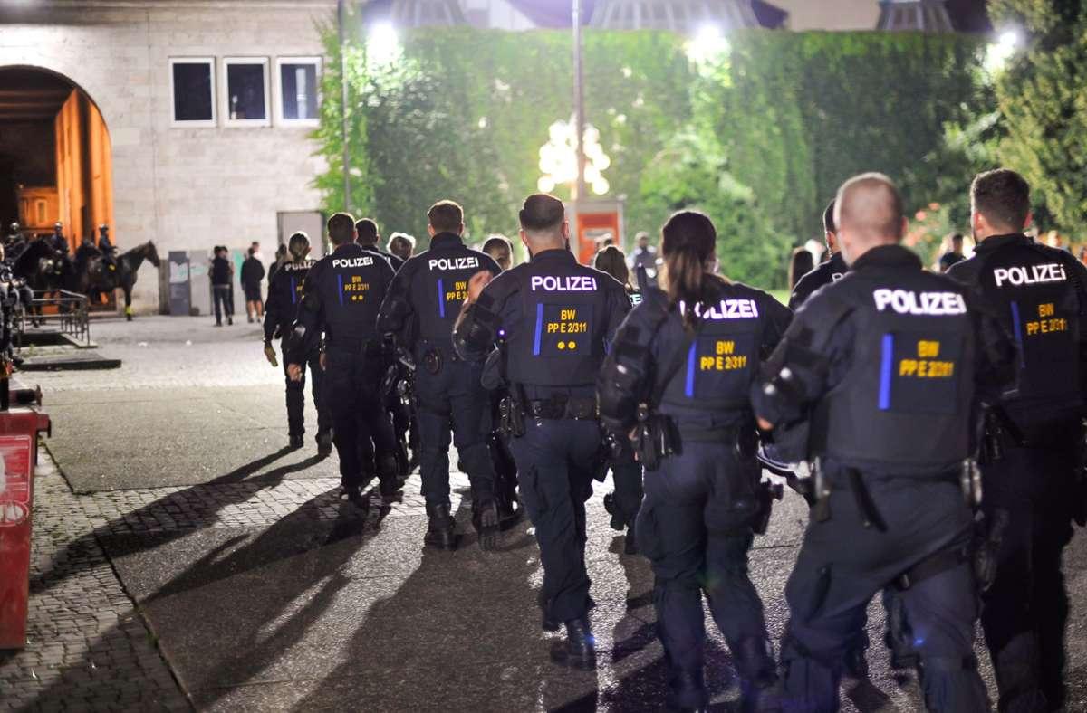 Die Krawallnacht von Stuttgart hallt bis heute nach. Foto: Lichtgut/Max Kovalenko