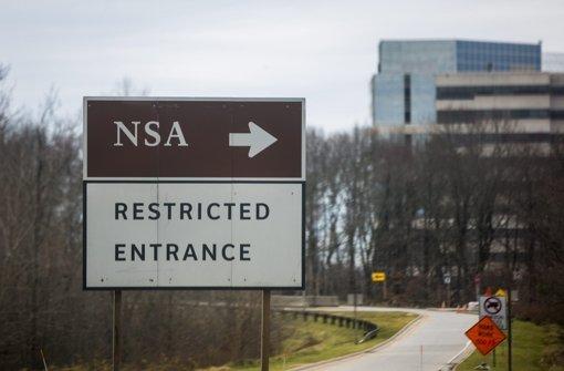 Schüsse vor NSA-Hauptquartier