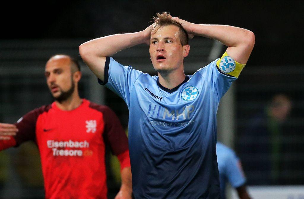 """""""Das fühlt sich wie eine Niederlage an"""", sagte Alessandro Abruscia. Foto: imago sportfotodienst"""