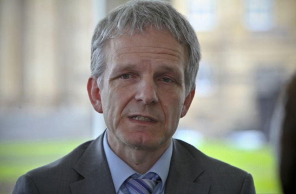Der Moderator des Filderdialogs, Ludwig Weitz, steht in der Kritik. Foto: StZ