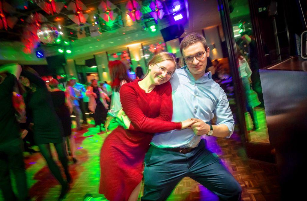 Man sieht's: Tanzen macht Spaß. Foto: Lg/Rettig