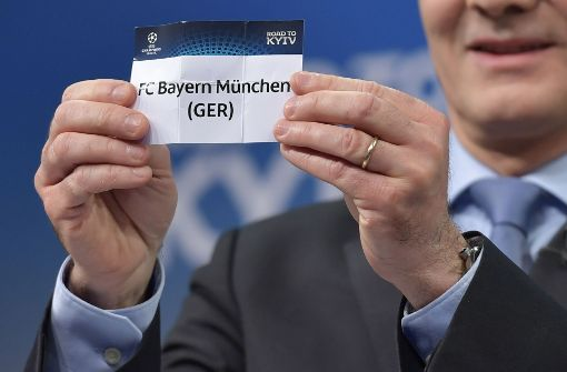 Losglück im Achtelfinale für den FC Bayern