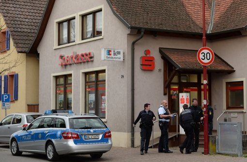 Toter Bankräuber war polizeibekannt