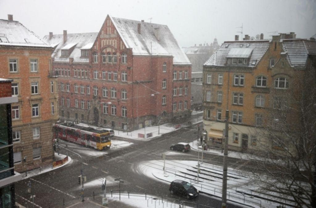 An der Schwabschule  im Westen darf mit 50 gefahren werden. Foto: Achim Zweygarth