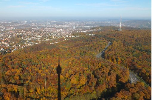 So bunt leuchtet der Herbst in Stuttgart