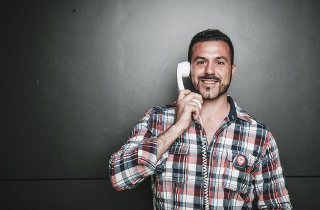 Eleftherios Hatziioannou sieht sich als Stuttgarter Startup-Pionier mit Bodenhaftung. Foto: Privat