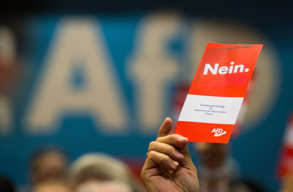 Zu einer rassistischen Facebookgruppe gehörten auch Bundestagsabgeordnete der AfD. Foto: dpa