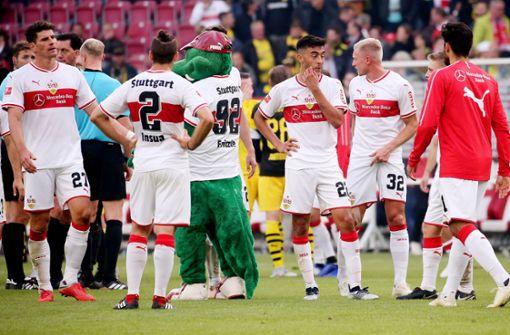 Verheerende Noten für die VfB-Spieler