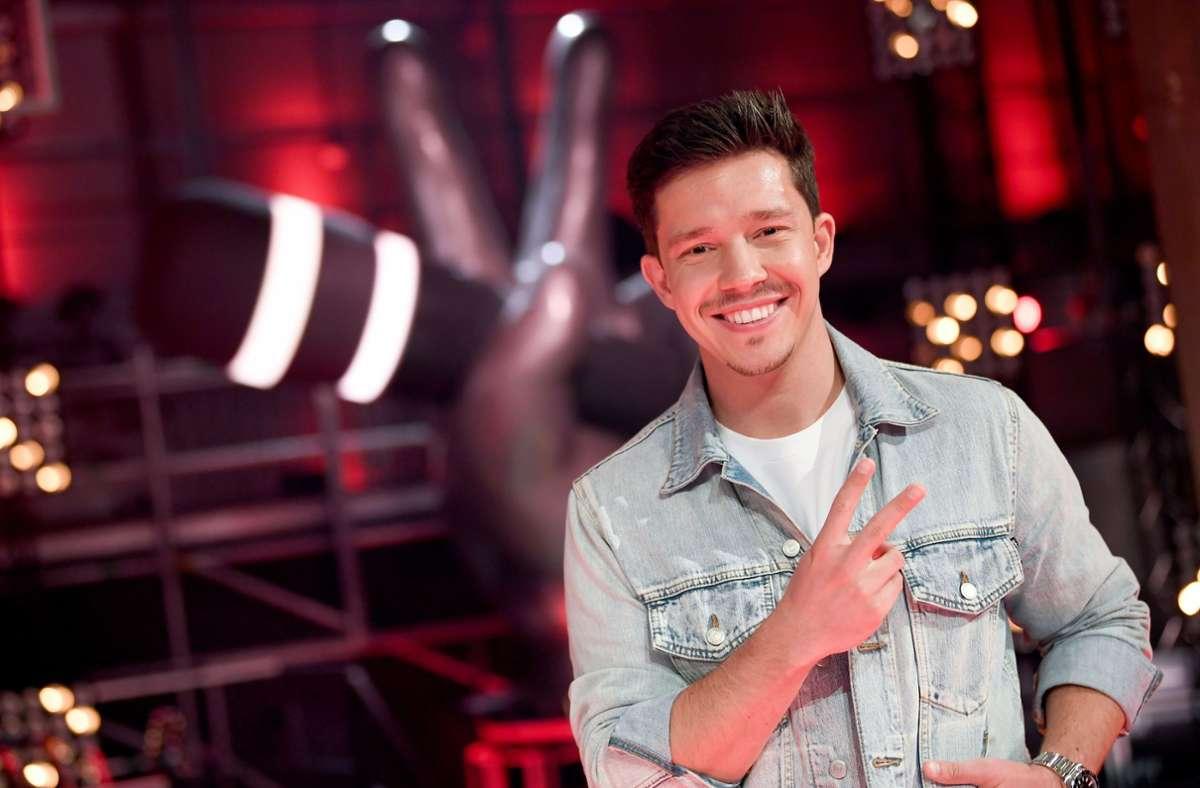 """Nico Santos ist der Neue in der Jury von """"The Voice of Germany"""". Foto: dpa/Britta Pedersen"""