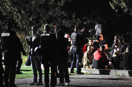 Flaschenwerfer und Plünderer gefasst