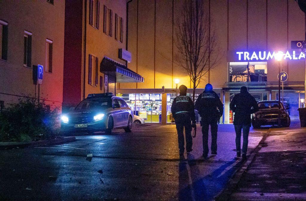 In Nürtingen sind zwei Männer aneinander geraten. Einer wurde schwer verletzt. Foto: 7aktuell.de/ Gruber
