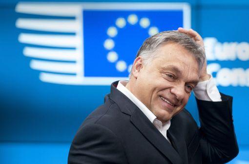 EVP-Fraktion geht auf Distanz zu Orban-Truppe