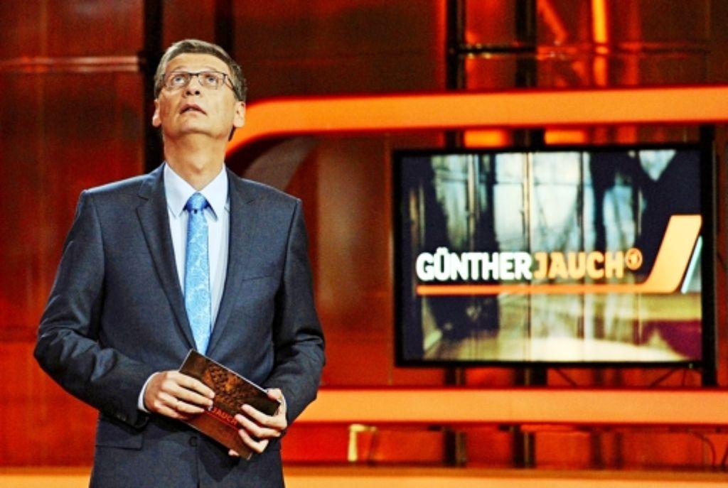 Tja, wer wird ihn wohl beerben? Der ARD-Talker Günther Jauch gibt auf. Foto: dpa