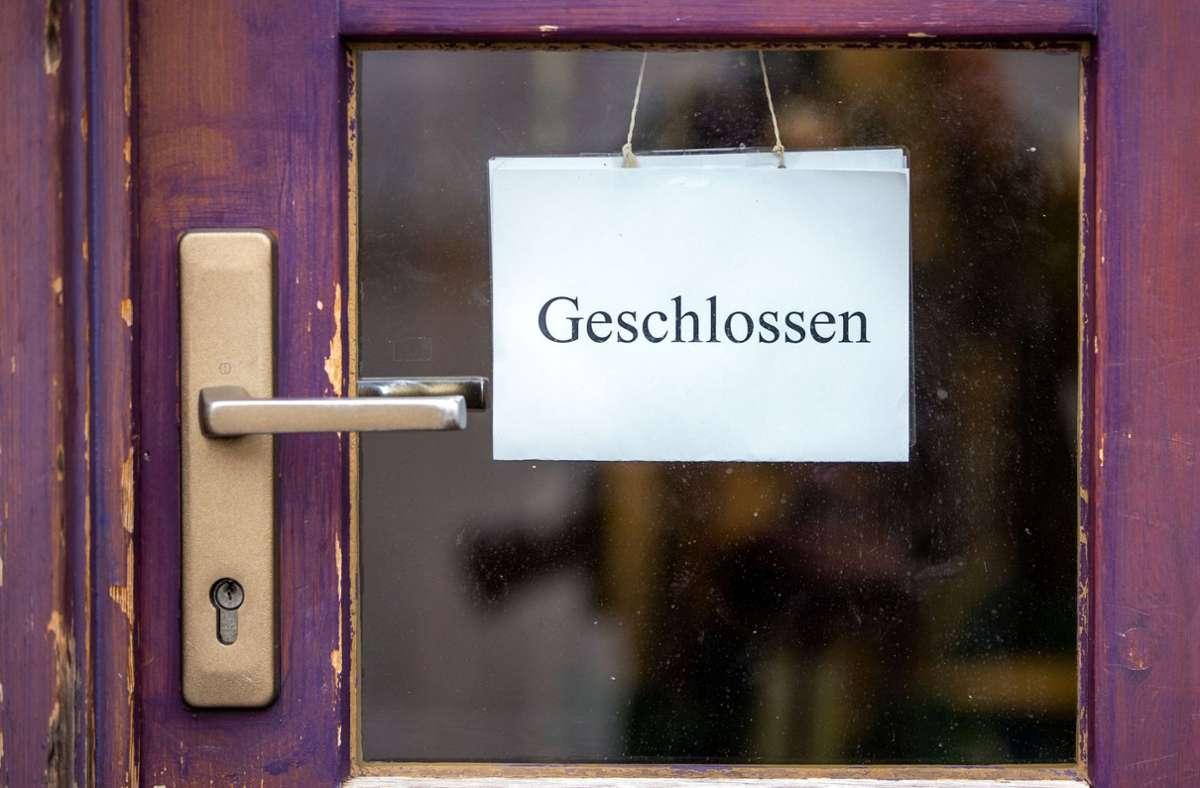 Deutschland befindet sich seit November wieder in einem Lockdown, seit Dezember sogar in  verschärfter  Form. Das wirkt sich auf die Konjunktur aus Foto: dpa