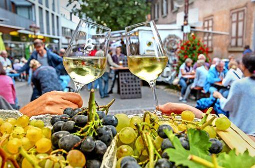 Riesling und Grauburgunder locken ins Weindörfle