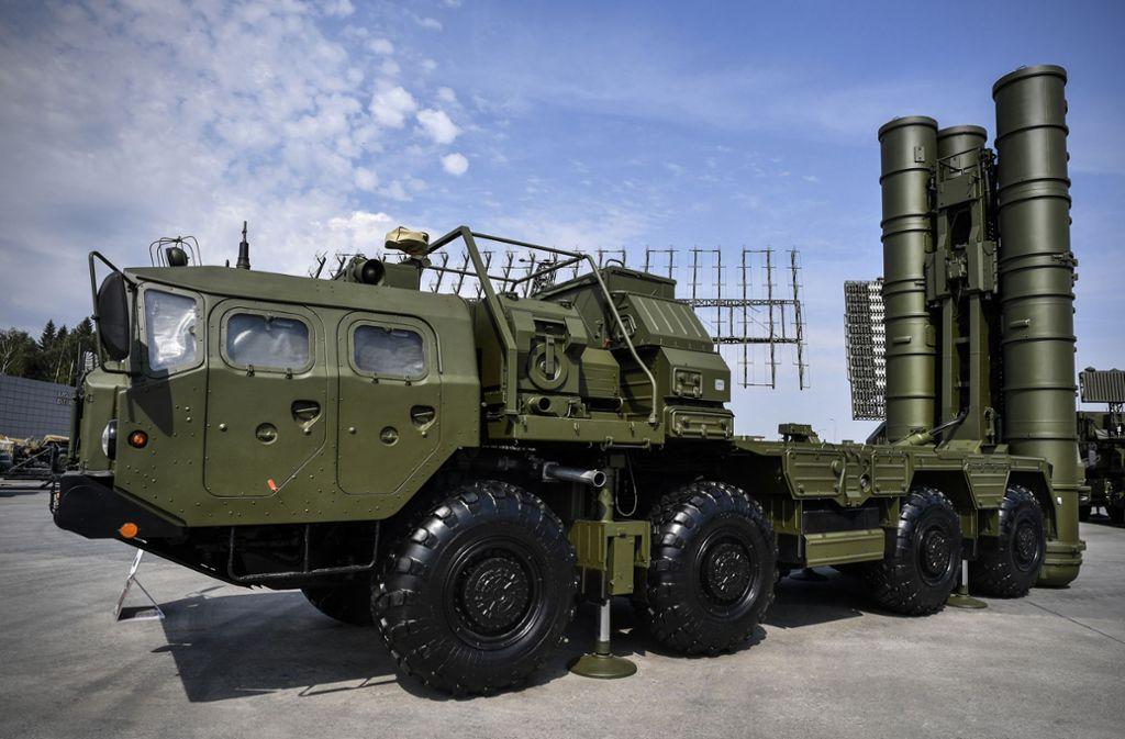 Das russische Raketenabwehrsystem S-400 wird auch von der Türkei verwendet. Foto: AFP/ALEXANDER NEMENOV