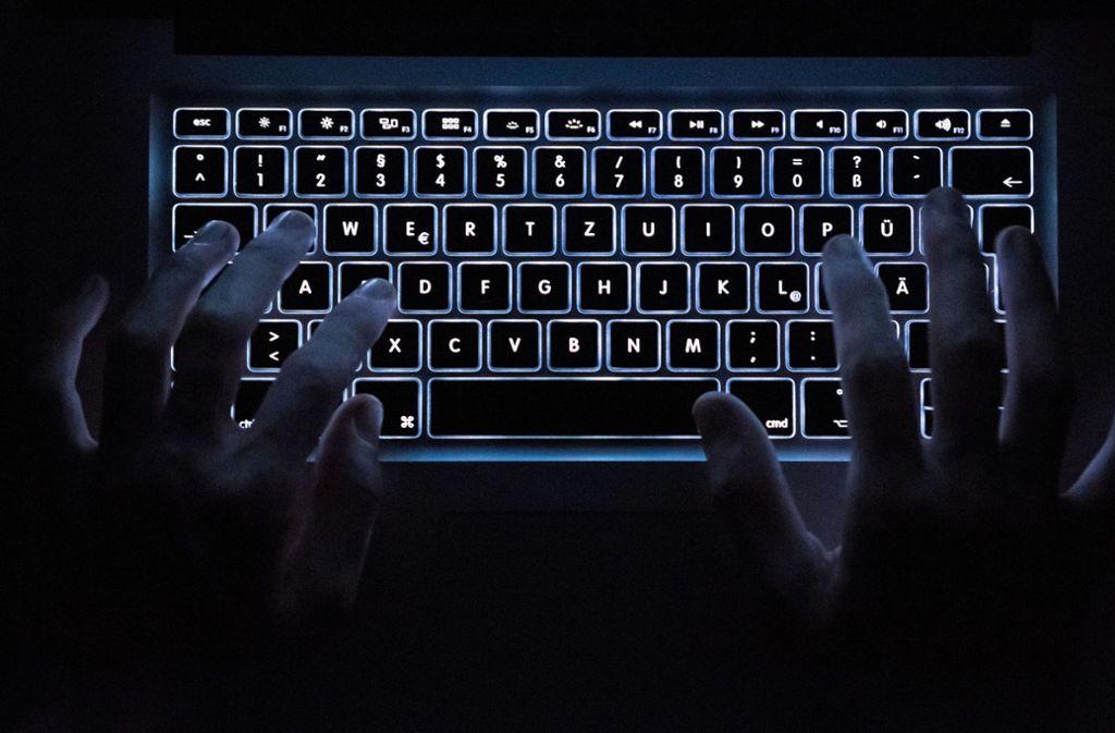 Die Ermittler ließen die Darknet-Seite hochgehen. Foto: dpa/Silas Stein