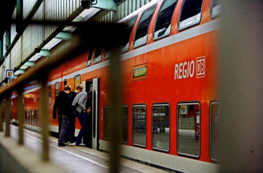 Den Zügen der DB Regio  soll Konkurrenz erwachsen. Deren Züge werden dann auch in den Stuttgarter Hauptbahnhof einfahren. Foto: Achim Zweygarth