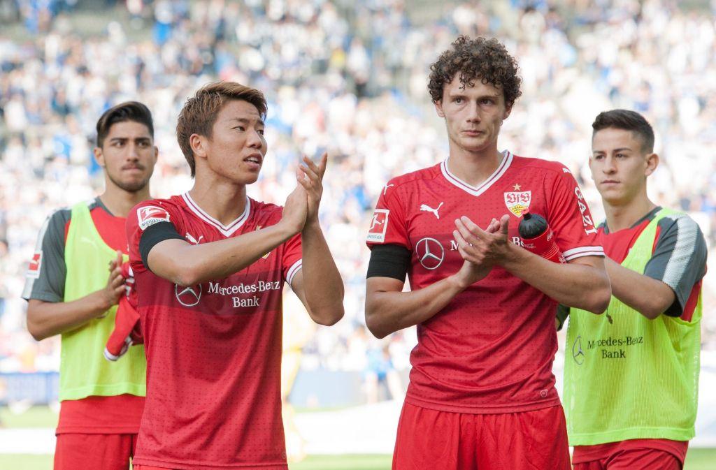 """In unserer neuen Serie """"VertikalGIF"""" wagen wir den etwas anderen Rückblick auf das aktuelle Spiel des VfB Stuttgart. Foto: Pressefoto Baumann"""