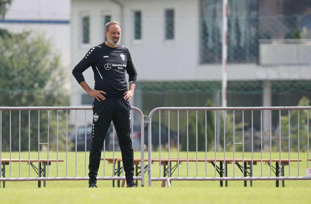 Trainer Pellegrino Matarazzo konnte mit seinem Team gegen ein gut besetztes Liverpool testen.  Foto: Alexander Keppler
