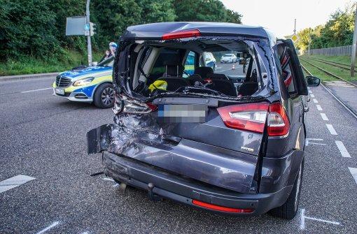 Sieben Verletzte bei Auffahrunfall