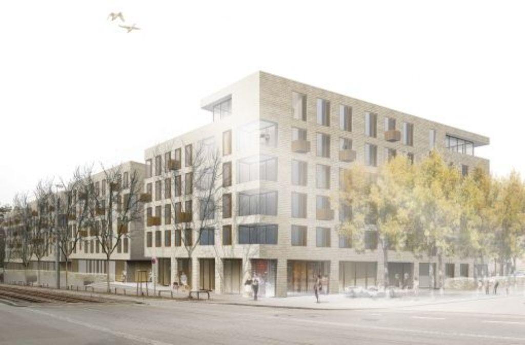 So soll der Neubau am Ende aussehen. Foto: Ackermann und Raff