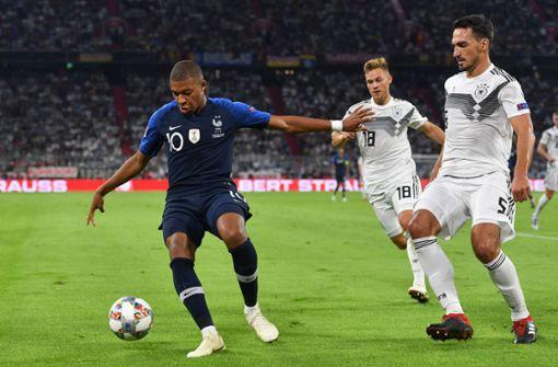 Hier kommt Deutschland gegen Frankreich im TV