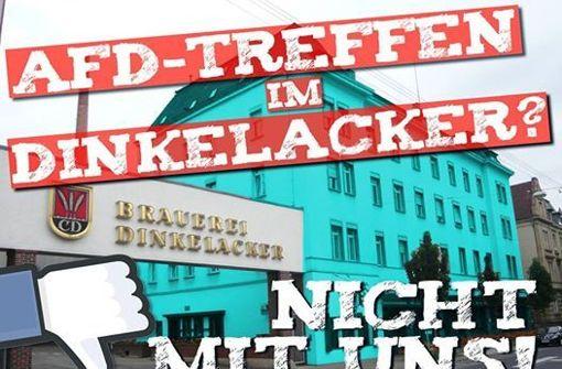 Dinkelacker dementiert Antifa-Behauptung