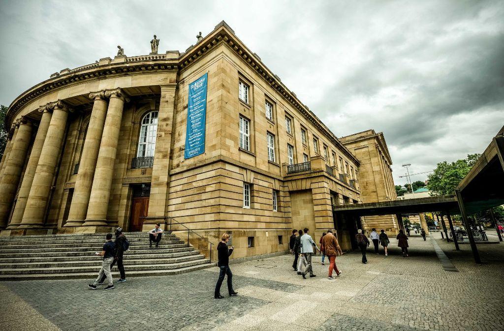 Besucher immer gern gesehen: das Opernhaus in Stuttgart Foto: Lichtgut/Leif Piechowski