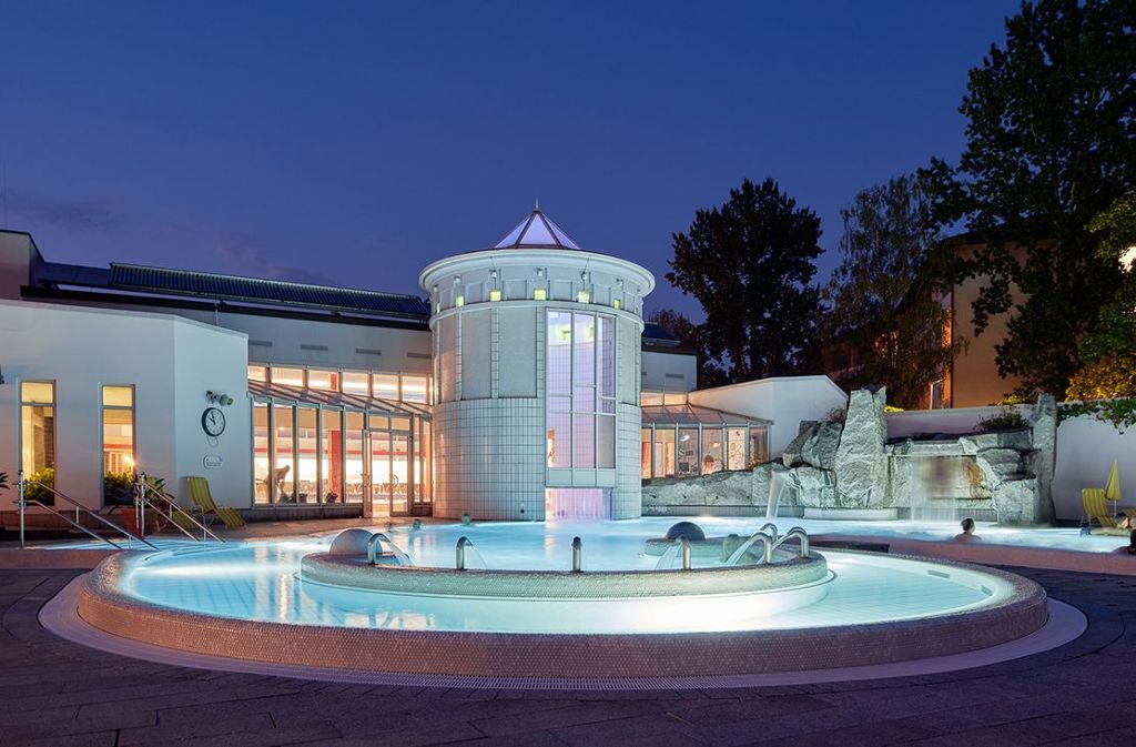 Der Vita Classica Badepalast verfügt über eine großzügige Thermenlandschaft mit Saunaparadies!  Foto: Kur und Bäder GmbH Bad Krozingen