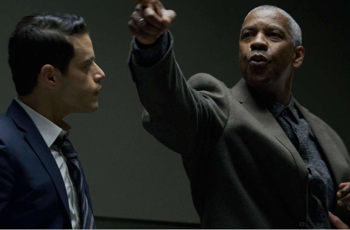 "Denzel Washington und Rami Malek (li.) im Warner-Film  ""The little Things"" Foto: imago images/Cinema Publishers Collection"