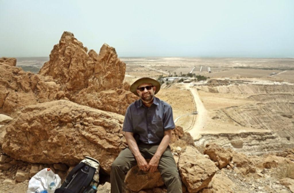 Der Sillenbucher Pfarrer Hans-Ulrich Gehring erlebte religionsgeschichtliche Stätten wie Qumran als aufregend und enttäuschend zugleich. Foto: privat