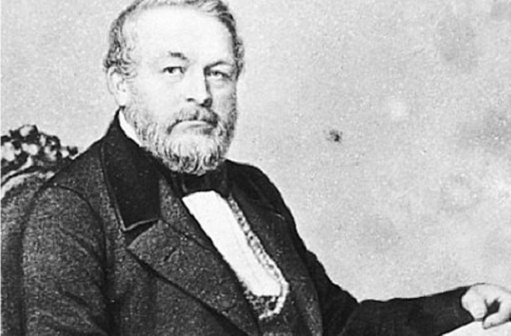 Carl von Etzel hat die Entwicklung des Tunnelbaus wesentlich mitgeprägt. Foto: Archiv