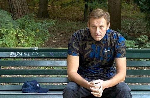 Alexej Nawalny erholt sich in Baden-Württemberg