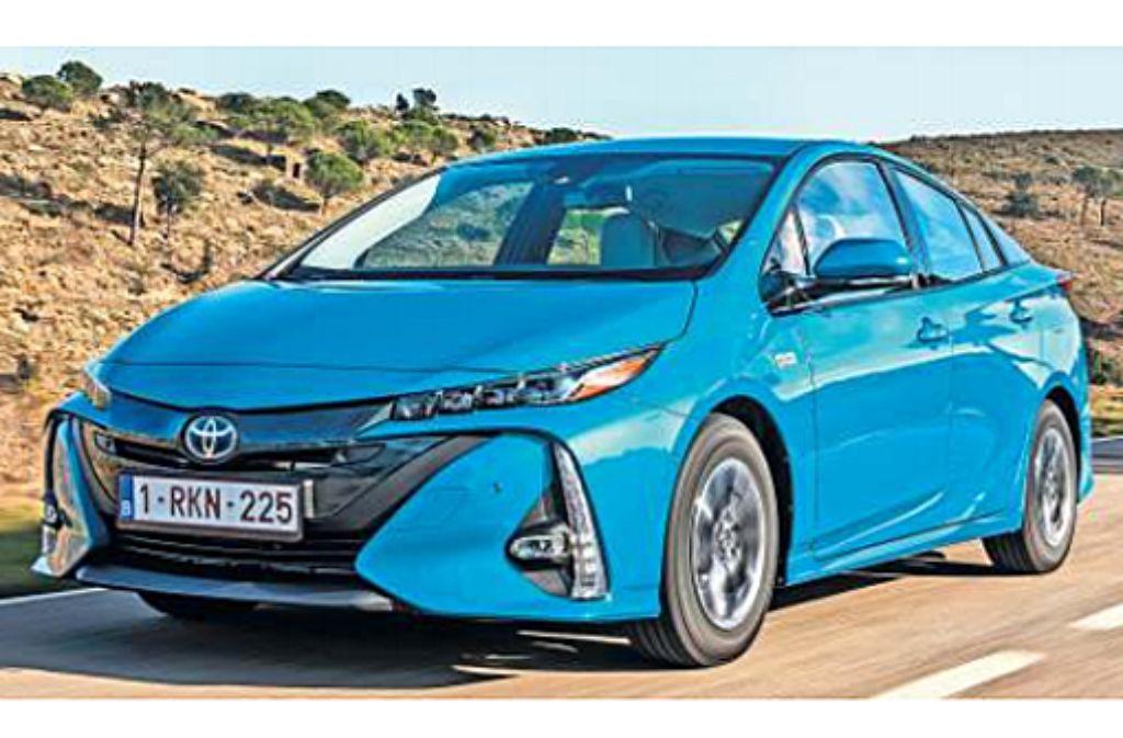 Der Plug-in-Prius steht ab dem 23. Februar bei den Toyota-Händlern. Foto: Hersteller