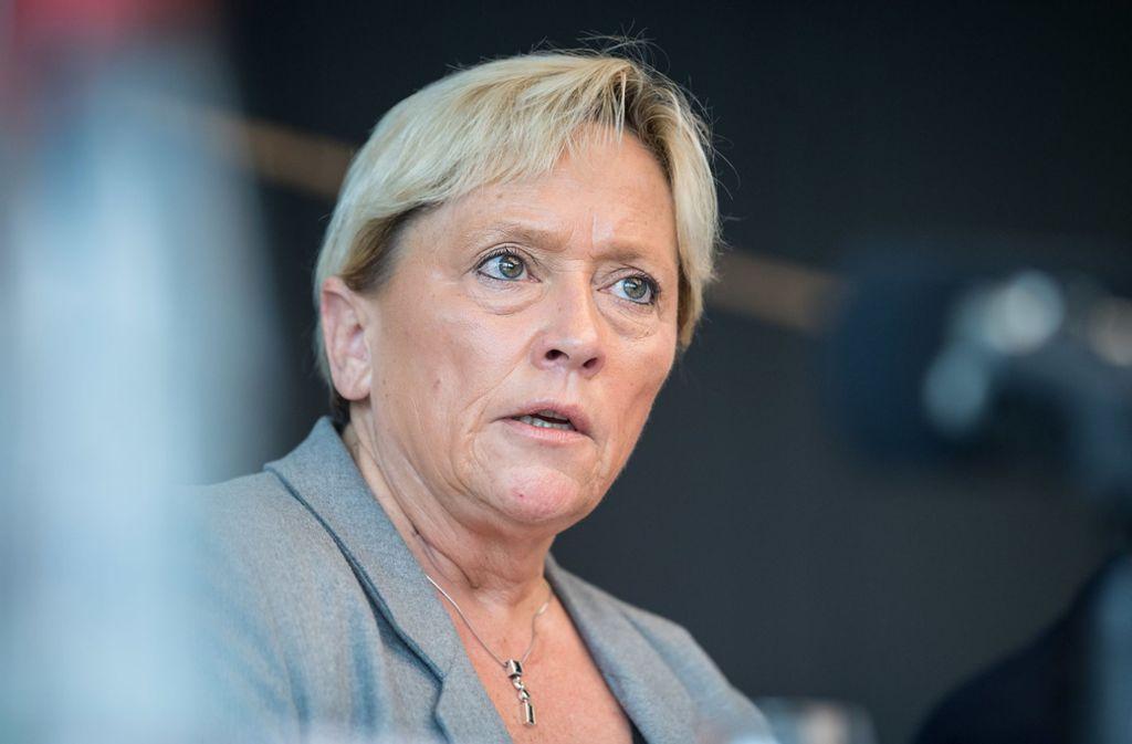 Susanne Eisenmann (CDU), Kultusministerin von Baden-Württemberg, pocht auf mehr Bewegung. Foto: dpa