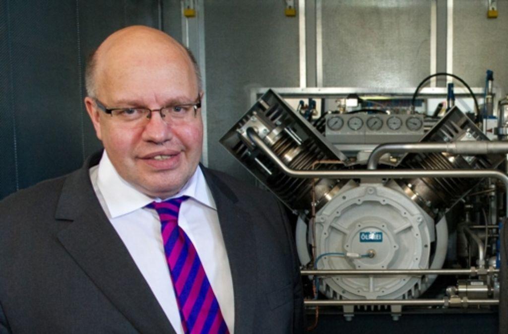 Umweltminister Peter Altmaier  hat eine Preisdebatte ausgelöst. Foto: dpa
