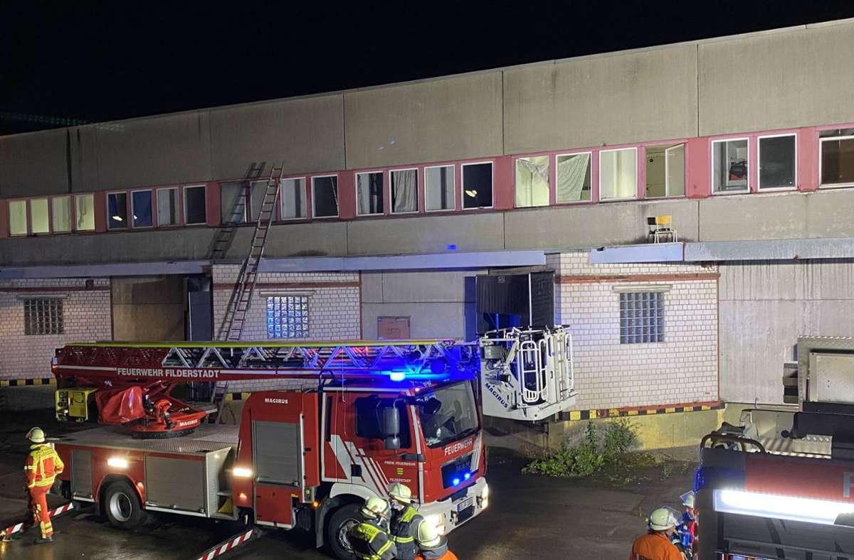 Die Feuerwehr wurde zu dem Einsatz nach Neuhausen gerufen. Foto: 7aktuell.de/Alexander Hald