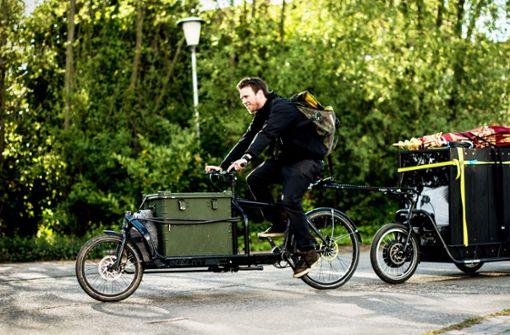 Stadt gibt Familien Zuschuss auf E-Lastenrad