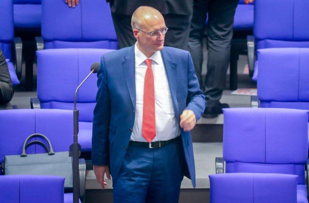 Der sportpolitische Sprecher der AfD-Bundestagsfraktion, Jörn König, hält wenig von Mesut Özil und Ilkay Gündogan. Foto: dpa
