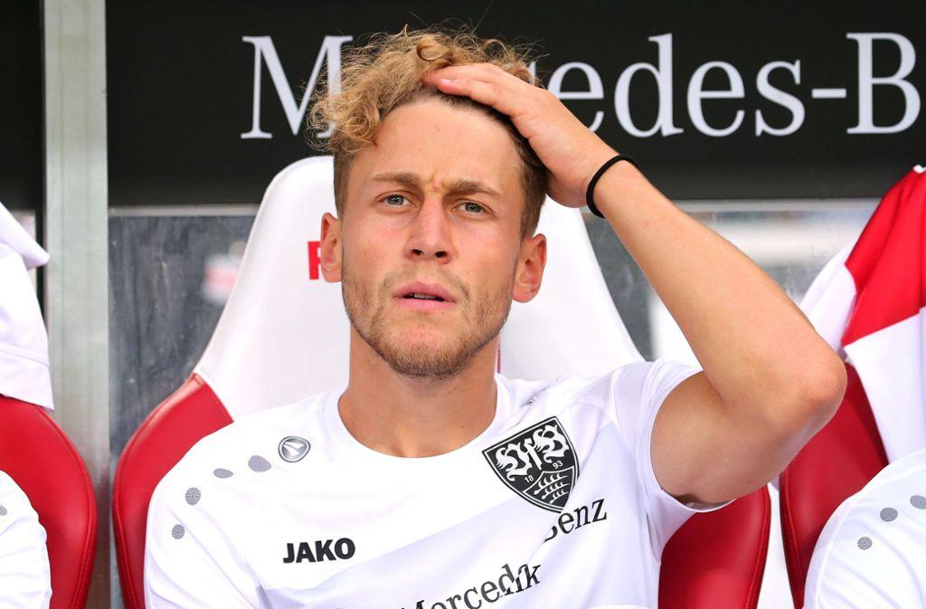 In den ersten beiden Zweitligaspielen dieser Saison stand David Grözinger im VfB-Profikader. Foto: Baumann
