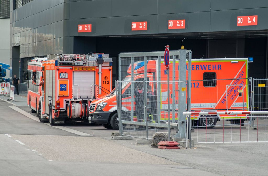 Auf einer Baustelle im Porsche-Werk in Zuffenhausen kam es zu einem Unfall. Foto: 7aktuell.de/Nils Reeh