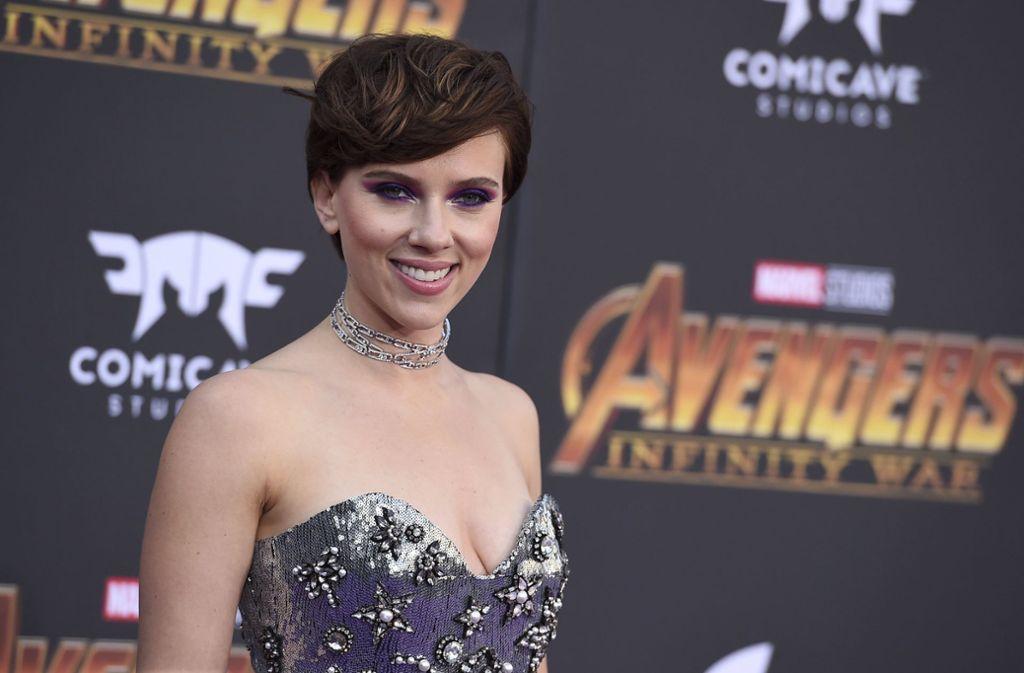 Sie ist die am besten bezahlte Schauspielerin Hollywoods: Scarlett Johansson. Foto: Invision/AP