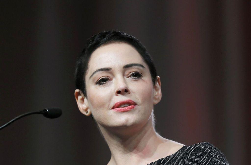 """""""Charmed""""-Darstellerin Rose McGowan zählt zu den ersten Frauen, die über sexuelle Übergriffe des Filmproduzenten Harvey Weinstein berichtet hat. Foto: AP"""
