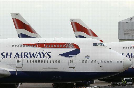 Flugbetrieb von British Airways weitweit gestört